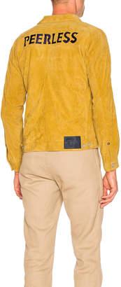 Visvim Peerless Suede Jacket in Yellow | FWRD