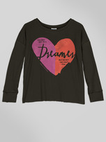 Junk Food Clothing Kids Girls Dreamers Long Sleeve-jtblk-xs