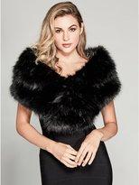 GUESS by Marciano Women's Faux-Fur Wrap