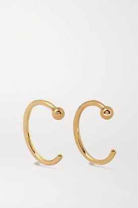 Melissa Joy Manning 14-karat Gold Hoop Earrings - one size
