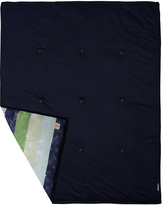 37'' x 46'' Midnight Stripe Organic Stroller Blanket