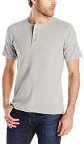 Paper Denim & Cloth Men's Jackson Short Sleeve Waffle Henley