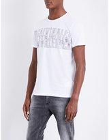 Calvin Klein Japet Cotton-jersey T-shirt