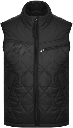 G Star Raw Attac Quilted Gilet Black