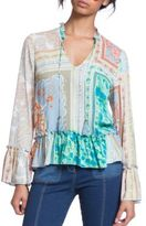 Plenty by Tracy Reese Romantic Ruffle Accented Blouse