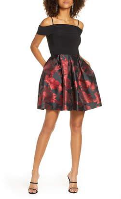 Morgan & Co. Fit & Flare Dress