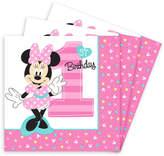 Disney Minnie Mouse 1st Birthday Lunch Napkins