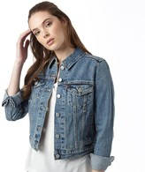 Levi's Womens Authentic Trucker Denim Jacket Travelling Road