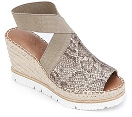 Gentle Souls by Kenneth Cole Women's Colleen Espadrille Wedge Sandals