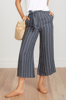 Faithfull The Brand Striped Linen Culottes