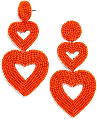BaubleBar Vierra Double-Heart Earrings