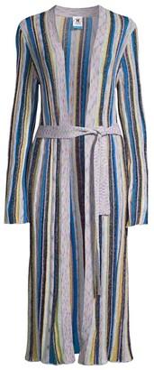 M Missoni Lurex Striped Cardigan