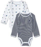 Ralph Lauren Cotton Bodysuit 2-Pack