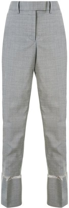 Sacai Oversized Cuffs Trousers