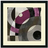 Amanti art ''Concentric Squares I'' Geometric Framed Wall Art