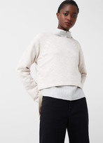 MANGO Message Cotton Sweatshirt