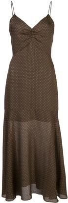 Alexis Nizarra polka-dot dress