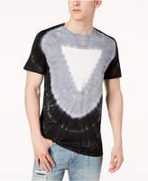 GUESS Men's Triangle Tie-Dye T-Shirt
