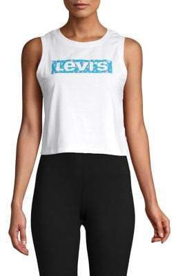 Levi's Graphic Cropped Tank Top