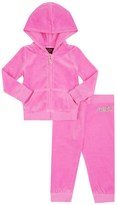 Juicy Couture Baby Logo Velour Certified Glamour Track Set