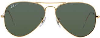 Ray-Ban RB3025 62MM Original Aviator Polarized Sunglasses
