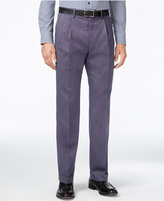 Lauren Ralph Lauren Men's Classic-Fit Microfiber Neat Pleated Dress Pants