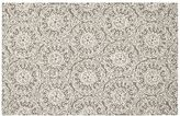 Pottery Barn Kids Audrey Floral Rug 3x5 Feet - Taupe