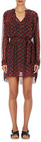 Etoile Isabel Marant Women's Bertha Circle-Print Silk Dress