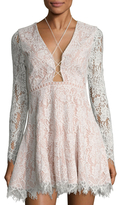 Style Stalker Sugar Pine Lace Circle Dress