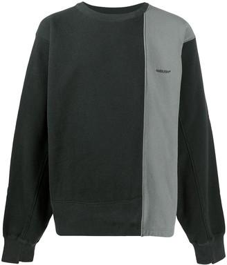 Ambush Contrast Panel Sweatshirt