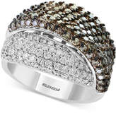 Effy Diamond Overlap Statement Ring (2-7/8 ct. t.w.) in 18k White Gold