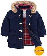 Duffle Coat Kids Navy - ShopStyle UK