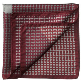 Aspinal of London Savile Row Silk Twill Pocket Square