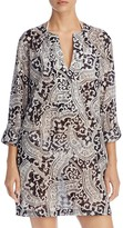 Echo Tropez Paisley Tunic Cover Up