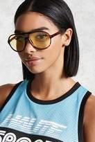 Forever 21 Tortoiseshell Aviator Sunglasses