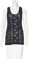 Givenchy Lace Sleeveless Top