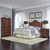 Home Styles Santiago Headboard, Night Stand, and Door Chest