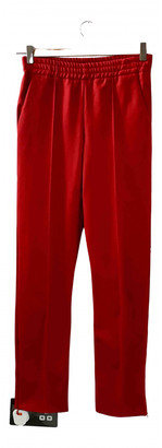 Joseph Red Cloth Trousers