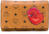 MCM rooster print wallet - women - Calf Leather - One Size