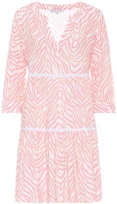 Heidi Klein Cape Town zebra-print minidress