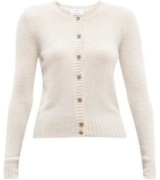 Allude Button-down Cashmere Cardigan - Womens - Light Pink