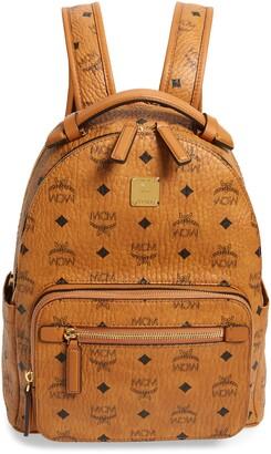 MCM Stark 32 Visetos Coated Canvas Backpack