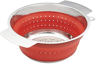 Rosle Foldable Colander Red