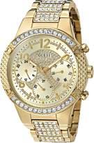 GUESS GUESS? Women's U0850L2 Analog Display Quartz Gold Watch