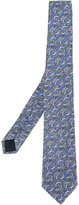 Lanvin wave print tie - men - Silk - One Size