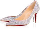 Christian Louboutin Decollete 554 Strass 85 Aurora Boreale Strass - Women Shoes