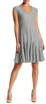 Taylor Printed Short Sleeve Dress