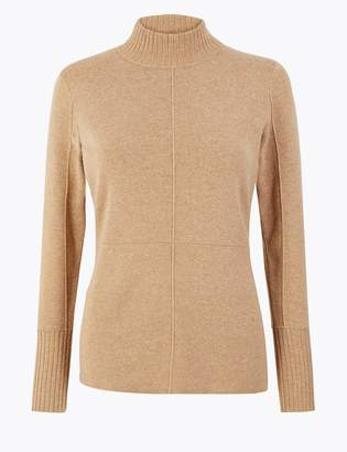 Marks and Spencer Turtle Neck Slim Fit Jumper