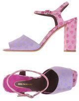 Lilac Sandals Shopstyle Uk
