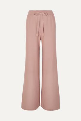 Loro Piana Cashmere Track Pants - Baby pink